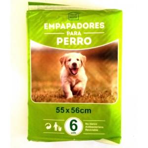 Empapadores para mascota perro adiestramiento enseñar a hacer pipi 6 unidades