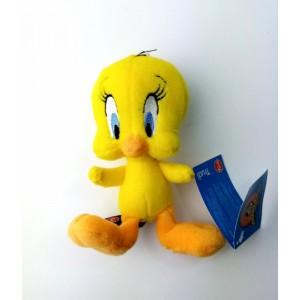 Peluche de Piolin Original pajarito amarillo Looney Tunes 14 cm Tweety