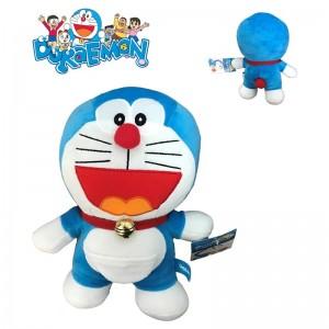 Peluche Doraemon sonriente de dibujos animados Doraemon 20 cms Original Nuevo