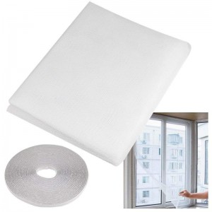 Mosquitera para Ventana blanca con velcro de 150 x 180 cm de Insectos puerta