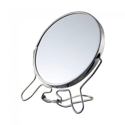 Espejo maquillaje de aumentos con soporte de 12 cm mediado para baño 3X