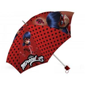 Paraguas de LadyBug plegable Prodigiosa de dibujos animados Miraculous Nuevo