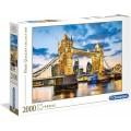 Puzzle de 2000 piezas el puente de la Torre de Londres al anochecer Tower Bridge