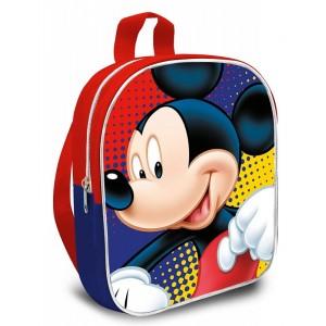 MOCHILA DE MICKEY MOUSE Escolar de 30 cm con cremallera Disney infantil