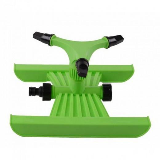 Aspersor rotatorio para suelo ideal para cesped jardín con sistema click rapido