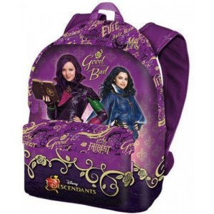 Mochila Grande morada descendientes Disney Descendants 42 cm
