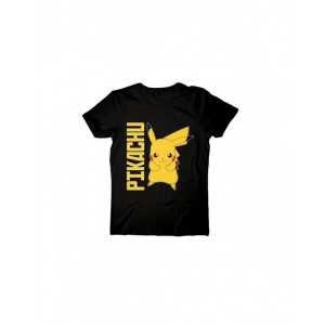 CAMISETA MANGA CORTA PIKACHU ARTWORK POKEMON