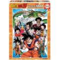 Puzzle de Dragon Ball Z de 1000 piezas personajes de son goku Vegeta Dragon