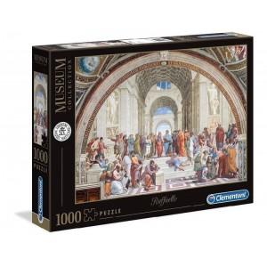 Puzzle de 1000 piezas La Escuela de atenas Colección Museos cuadros raffaello