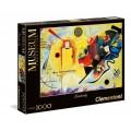 Puzzle de 1000 piezas yellow red blue amarillo rojo azul cuadro de Kandinsky