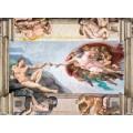 Puzzle de 1000 piezas La creación del Hombre pintura de Michelangelo