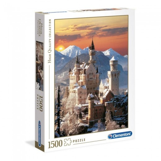 Puzzle de 1500 piezas Castillo Neuschwanstein