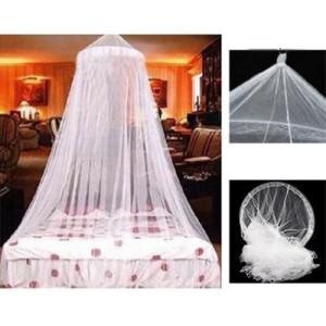 Mosquitera para Cama blanca red anti mosquitos para techo dosel de matrimonio