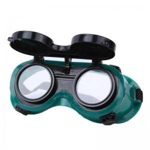 Gafas de protección para soldar ajustable de soldador protege de chispas y luz