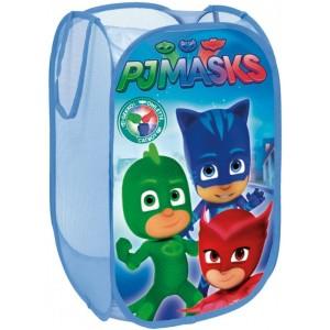 Guardatodo contenedor plegable de PjMasks Azul de tela Pj masks cesta juguetes