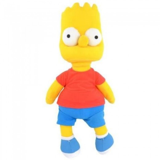 Peluche de Bart Simpson Temporada 1 28 cm Original de los Simpsons