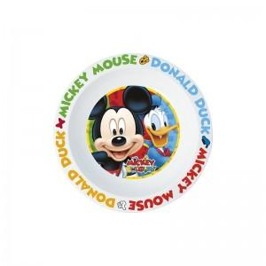 PLATO HONDO para MICRO Microondas de MICKEY Mouse y Donald COLORS
