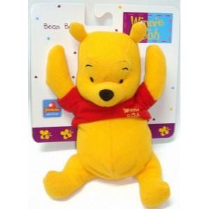 Peluche de Winnie the Pooh DIsney suave tipo bolsa 17 cm para bebe Bean Bag