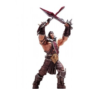 Figura de WoW World of WarCraft Personaje de Lo Gosh Guerrero Series 5 Lo´Gosh