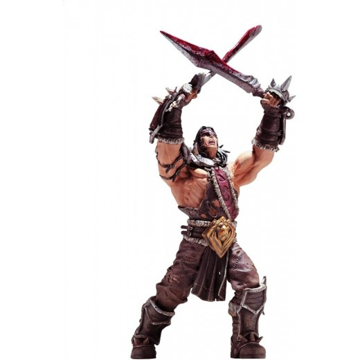 Figura de WoW World of WarCraft Personaje de Lo Gosh Guerrero Series 5 Lo´Gosh