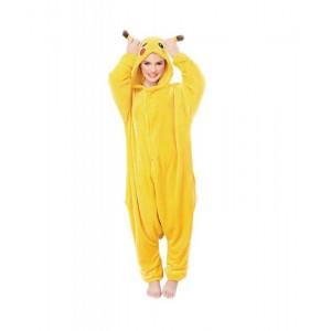 Disfraz de Ratón tipo Pikachu de Pokemon Pijama Kigurumi infantil con capucha