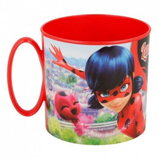 Taza de Ladybug con asa Roja especial para Microondas 350 ml Marinette dibujos