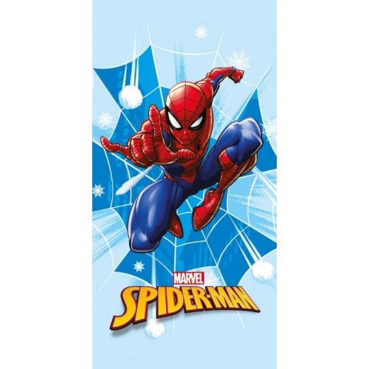 Toalla de Spiderman azul de secado rapido para playa piscina Spider man Marvel