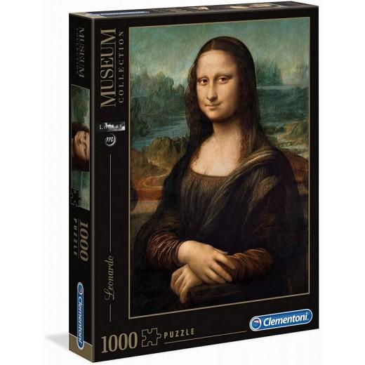 Puzzle de la Mona Lisa de 1000 piezas cuadro de Leonardo Da Vinci pintura