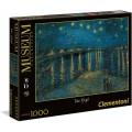 Puzzle de 1000 piezas Van Gogh noche estrellada starry night