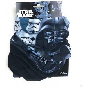 Braga para cuello de Star Wars negra Darth Vader y stormtrooper