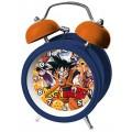 DESPERTADOR De Dragon Ball Z Son Goku de metal Azul o Naranja campana