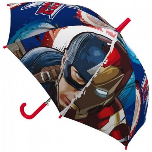 Paraguas de los Vengadores Marvel Capitán américa y Iron Man 45 cm