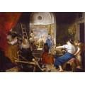 Puzzle de Las Hilanderas de 8000 piezas muy grande cuadro de Velázquez