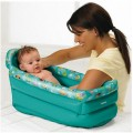 Bañera hinchable para bebe baño de viaje 60 cm piscina refrescante