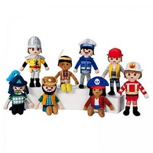Peluches de muñecos de PLAYMOBIL juguete play mobil 8 Unidades Nuevos 21 cm