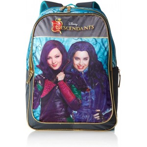 Mochila de las descendientes grande adaptable a carro Descendants 42 cm