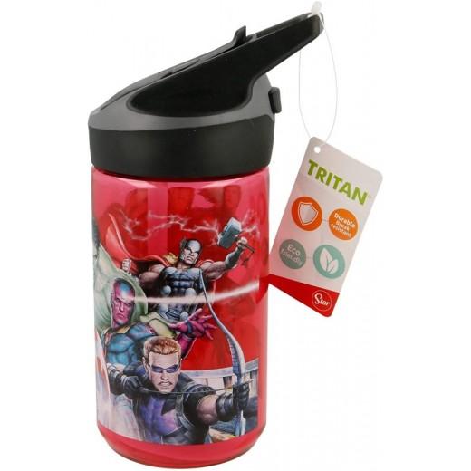 Botella Tritan con bebedor 480 ml Vengadores cantimplora infantil colegio