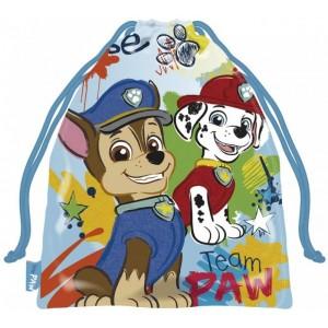 Bolsa patrulla canina pequeña de merienda y almuerzo colegio guardería 26 cm