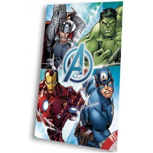 Manta polar de los Vengadores Marvel hulk Thor ironman capitan america
