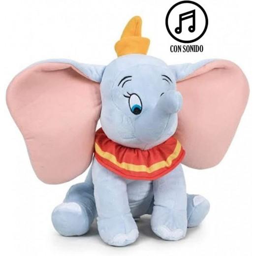 Peluche de Dumbo Disney 21 cm muñeco de elefante de la película con sonido