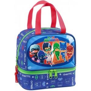 Portameriendas bolsa para almuerzo de PjMasks porta comida colegio