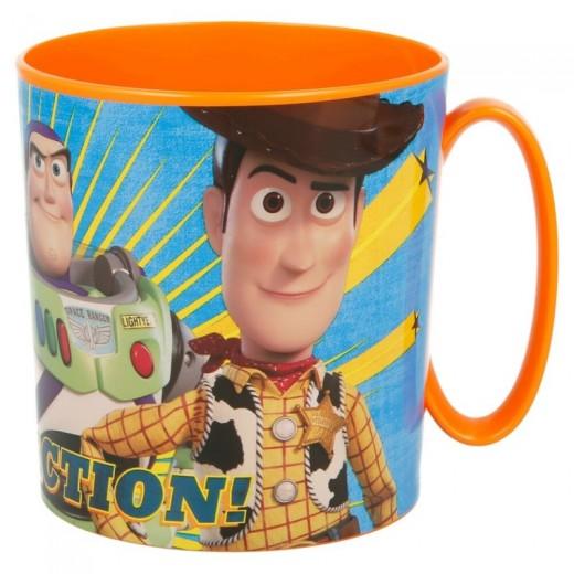 Taza de Toy Story especial para Microondas 350 ml Amarilla Dibujos Buzz forky