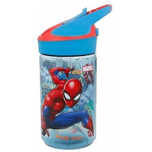 Botella Tritan con bebedor 480 ml de Spiderman cantimplora Spider man colegio