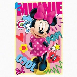 Manta polar de Minnie Mouse Disney 100x150 cm manta calentida niños Nueva