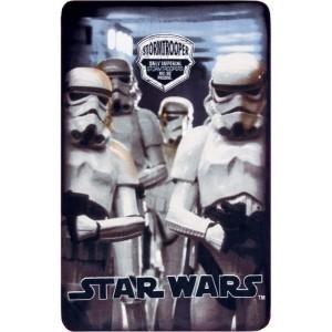 Manta polar de Star wars Stormtrooper soldados blancos 100 x 150 cm suave