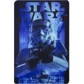 Manta polar de Star wars Stormtrooper soldado blanco 100 x 150 cm suave azul