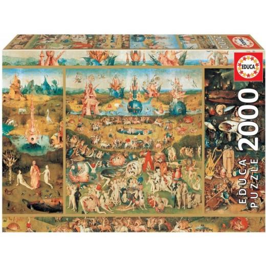 Puzzle de El Jardin de las delicias de 2000 piezas El Bosco Grande
