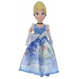 Peluche de la cenicienta 25cm princesas disney vestido brillante