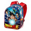 Mochila de Dragon Ball Z Super para colegio 37cm dibujos son Goku Vegeta Trunks
