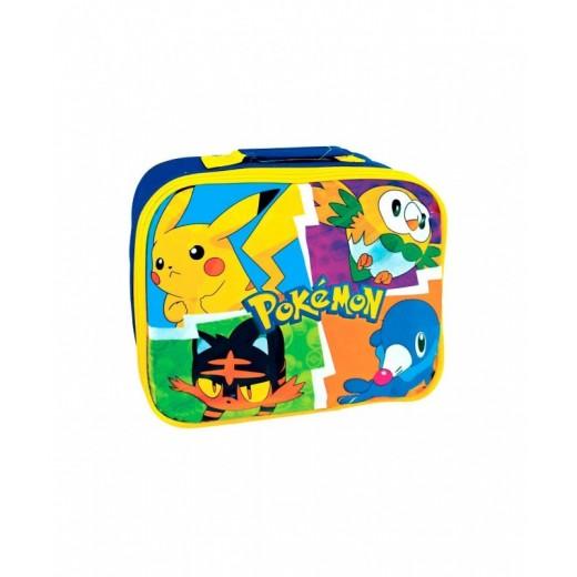 Bolsa portameriendas termica de Pokemon PIkachu Comida para colegio merienda